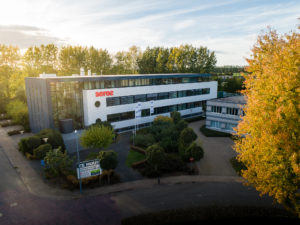 Seres geland op Business & Science Park Wageningen